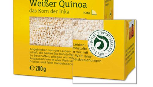 Quinoa kaufen - faire Trade - Bio Quinoa