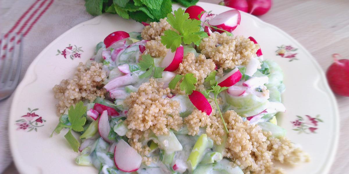 Gurkensalat_mit_Quinoa
