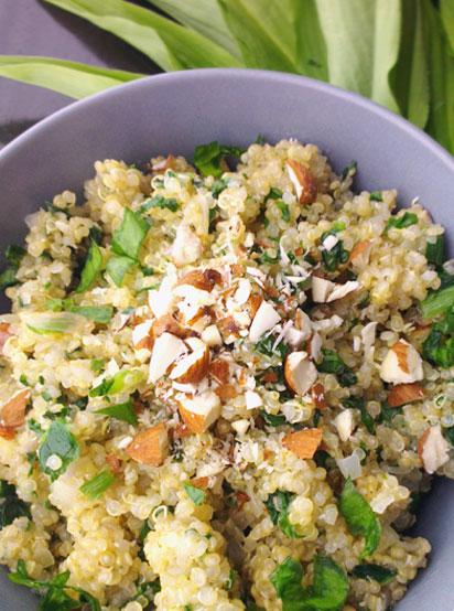 Bärlauch-Quinoa